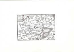 59 DU GOUVERNEMENT DU  LE QUESNOY      FORET DE MORMANT  Plan Ancien  Carte Ancienne   Flandre  Comté Du Haynaut  Hainot - Maps