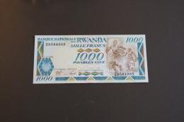 Rwanda 1000 Francs 1/01/1988  UNC - Rwanda