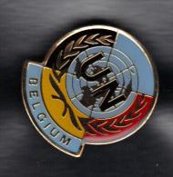 PIN NATIONS UNIES BELGIUM.  (3SP52) - Militaria