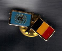 PIN NATIONS UNIES BELGIUM.  (3SP53) - Militaria