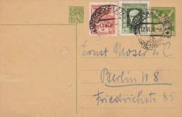 CSR; Postal Card CDV28 To Germany - Cartes Postales