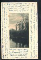 F993 Bella Lettera D' Amore Turbolento, Non Ricambiato Ed Impedito Su Cartolina Datata 1929 - Vecchi Documenti