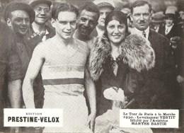 Photo Tour De  Paris A La Marche 1930 Vestit Felicite Par Maryse Bastie - Athlétisme