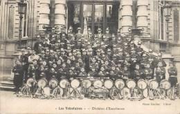 """ROUEN """" LES VOLONTAIRES """" DIVISON D'EXCELLENTCE FANFARE MUSIQUE MILITAIRE ZOUAVE MUSICIEN 76 - Rouen"""