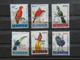 N° 1216/21. Zoo. Vogels - Oiseaux. ** - Ongebruikt
