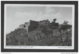 POSTCARD PORTUGAL SETUBAL 1950years SETÚBAL CASTELO De S. FILIPE - Setúbal
