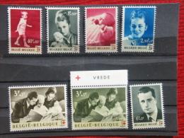 N° 1262/68. Eeuwfeest Rode Kruis - Centenaire Croix-rouge. ** - Ongebruikt