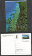 NEW CALEDONIA ,2013,  MNH, PRESTAMPED POSTCARD,LANDSCAPE, WEST COAST,LIFOU, TREES, COASTLINE. NICE! - Islands