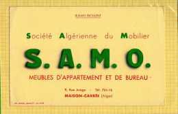 BUVARD : Meubles D'Appartement Et De Bureau  S.A.M.O. Maison Carré  ALGER - Wash & Clean
