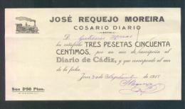 1918.- JEREZ (CÁDIZ) - Storia Postale
