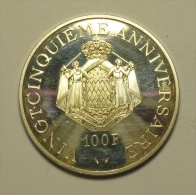 Monaco 100 Francs 1974 Argent / Silver - 1960-2001 Franchi Nuovi