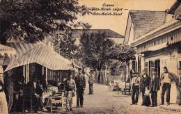 TURKEY & ROMANIA : ORSOVA - ADA KALEH ISLAND On DANUBE : CAFÉ TURC - C. P. ANCIENNE / VINTAGE PC - 1918 (p-108) - Turquie
