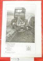 Crawler Tractor / Tracteur à Chenilles, Raupenschlepper, Bagger, Excavator Plow, Pflügen, - Tracteurs