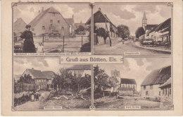 Gruss Aus Butten,carte Postale 4 Vues - France