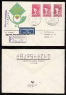 Lithuania Litauen 1990 FDC Cover Mi# 460 Different Color Shades - Lituania