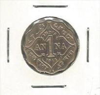 B7 India 1 Anna 1914. George V King Emperor - Inde