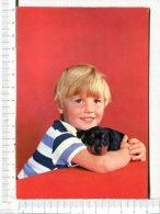 GARCON Et Son CHIEN  -  CARTE  PHOTOCHROM - Enfants