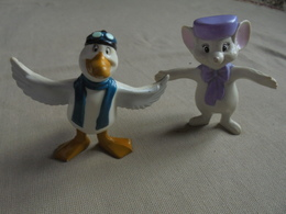 2 Figurines DISNEY - Bernard Et Bianca Disney China - Disney