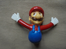 Ancienne Figurine De Mario Nintendo 1999 Publicité Kellogg's - Jeux Vidéo