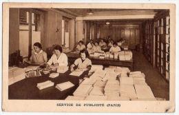 CP Service De Publicité Paris 75 Pub  Pharmacie Ch Fresnais Chablis 89 Yonne - Pubblicitari