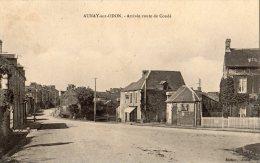 AUNAY-SUR-ODON ARRIVEE ROUTE DE CONDE - Francia