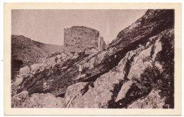 CP, 81, MAZAMET, Les Ruines Du Château Féodal D'Haupoul, Vierge - Mazamet