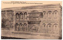 CP, 87, SAINT JUNIEN, Tombeau des Saints, vierge, Editions Villoutreix