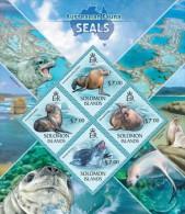 Solomon Islands. 2013 Seals. (416a) - Altri