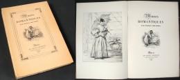 Muses Romantiques / Marcel Bouteron / Le Goupy Éditeur En 1926 - Bücher, Zeitschriften, Comics