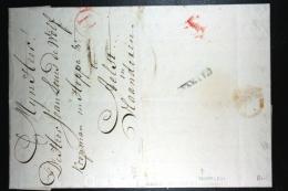 Nederland: Brief 1788 Vertrekstempel Haarlem, Doorgangsstempel H, Zuidelijke Nederlanden, Naar Aelst Aalst België - Niederlande