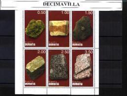 BUR, MINERALES(1), 6 VAL, - Minerales & Fósiles