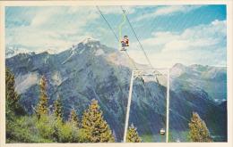 Canada Banff Chair Lift on Mt Norquay Alberta