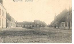 RV70     RIJKEVORSEL     1924   DORPPLAAST - Rijkevorsel