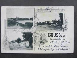 AK GROISSENBRUNN Engelhartstetten B. Gänserndorf 1902   //  D*8992 - Gänserndorf