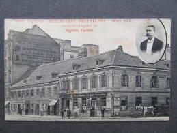 AK WIEN XVI. Lerchenfeldergürtel Gasthaus 1913  //  D*9005 - Sonstige