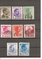 Rumanía Yvert Nº 486, 488-95 (usado) (o) - 1918-1948 Ferdinand, Charles II & Michael