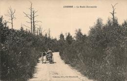 LA HAUTE CHEVAUCHEE - (sentier Avec Un Triporteur)            -- Rosman - Frankreich