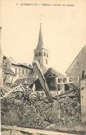 HERMONVILLE - L'église à Travers Les Ruines              -- Bosquet 4 - Autres Communes