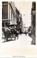 GIBRALTAR Ca. 1910 - POSTAL CARD - MAIN STREET With CARRIAGE - Postcards