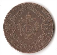 AUTRICHE  15  KREUTZER  1807 - Autriche