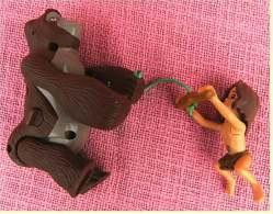 2 Disney Figuren Von McDonald  , Tarzan-Boy  + Gorilla Beweglich - Action- Und Spielfiguren