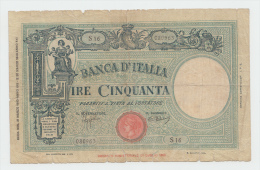 Italy 50 Lire 1943 AF P 64 - 50 Lire