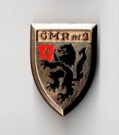 INSIGNE GMR  2- Groupement Des Moyens Généraux - DRAGO PARIS G 2210 - Armée De Terre