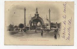 CPA 75 : PARIS  Exposition 1900    La Porte Monumentale   1901  A  VOIR  !!!!!!! - Expositions