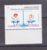FRANCE / 2013 / Y&T N° Service 15? ** : CE (Education à La Citoyenneté) - Gomme D´origine Intacte - Dienstpost
