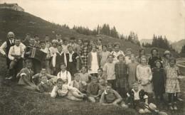 CHÂTEAU-d'OEX - L'Ecole Primaire En 1925 - VD Vaud