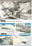 FLIMS LAAX Weisse Arena Arenaexpress 4 Karten - GR Graubünden