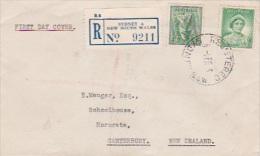 Australia 1938 4d Koala Registered FDC - FDC