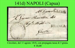 Capua-00141d - Piego (con Testo). - Italia