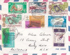 New Hebrides 1966 Cover To Australia - New Hebrides
